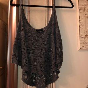 Tops - Crochet tank top